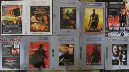 Историко-приключенческие фильмы на DVD!. Сумы. фото 1