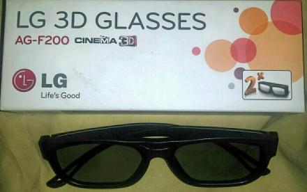 Продам пассивные 3D-стерео ОЧКИ ,,LG AG-F200
