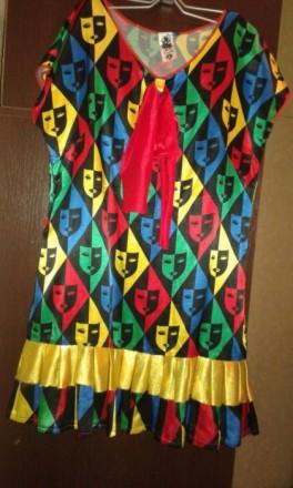 Карнавальное платье р.46-48. Сумы. фото 1