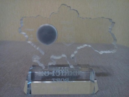 Сувенирные настольные часы. Материал оргстекло.. Мариуполь, Донецкая область. фото 5
