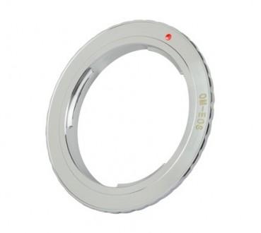 Переходное кольцо Olympus OM - Canon EOS. Сумы. фото 1