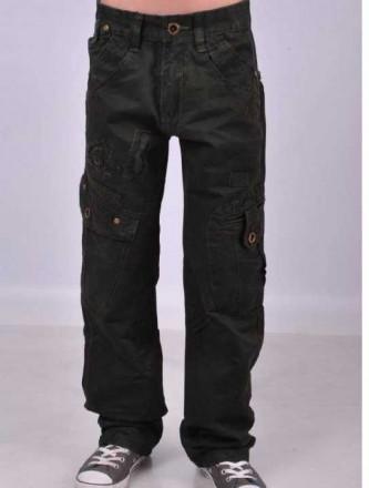 Качественные Модные джинсы, брюки для мальчиков 9- 14 лет. Маріуполь. фото 1