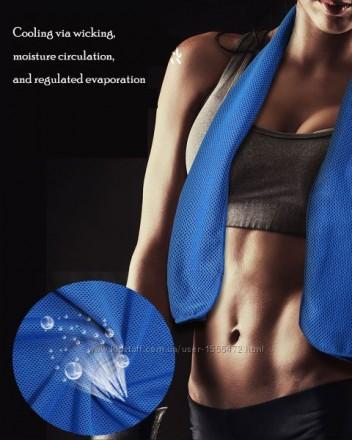 Охлаждающее полотенце для занятий активными вида спорта RT-TW01 Cold Feeling Spo. Киев, Киевская область. фото 13