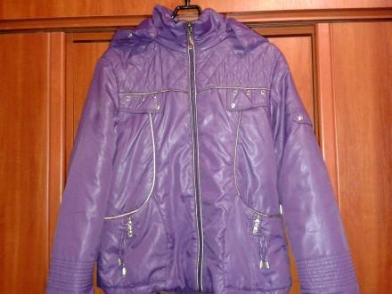 Куртка для девочки демисезон. Змиев. фото 1