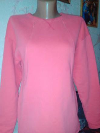 Нарядная толстовка, ярко-розовая. Изюм. фото 1
