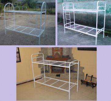 Кровати двухъярусные. Металлическая кровать недорого.. Днепр. фото 1