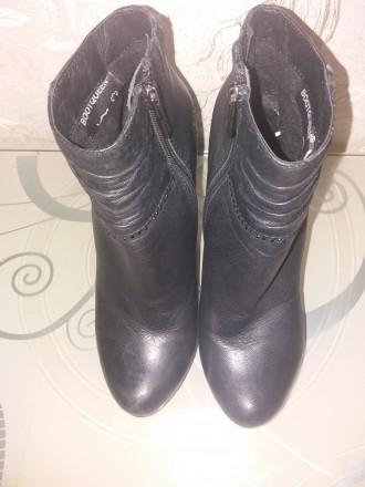 Ботинки женские размер 37 натуральная кожа. Сумы. фото 1