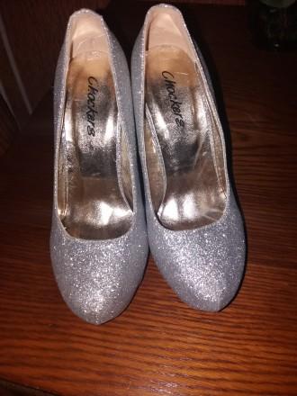Красивые туфли на высоком каблуке 13 см подойдут для любого торжества. Удобные, . Сумы, Сумская область. фото 8