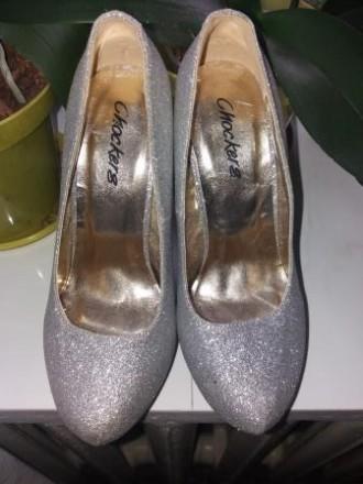 Красивые туфли на высоком каблуке 13 см подойдут для любого торжества. Удобные, . Сумы, Сумская область. фото 3