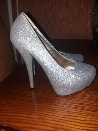 Красивые туфли на высоком каблуке 13 см подойдут для любого торжества. Удобные, . Сумы, Сумская область. фото 9