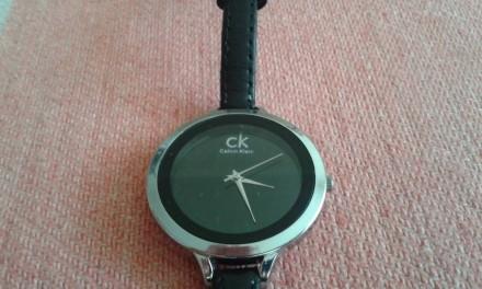 Оригинальные брендовые женские часы Calvin Klein на кожаном ремешке. Днепр. фото 1