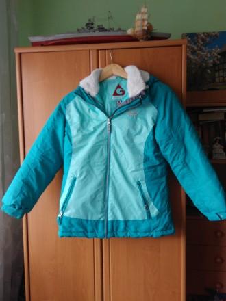 Зимова куртка-двойка з комбінезоном. Львов. фото 1