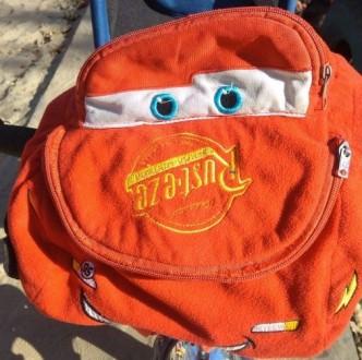 Тачка Маквин рюкзак. Херсон. фото 1
