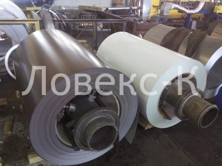 Лист гадкий с полимерным покрытием 0,4 - 0,45 мм, Крашеный, от производителя. Киев. фото 1