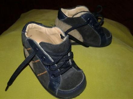 Шкіряні дитячі черевички / кожаные детские ботиночки Däumling, 18 p.. Ивано-Франковск. фото 1