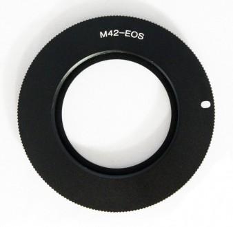 Переходное кольцо M42 - Canon (Контроль прыгалки). Сумы. фото 1