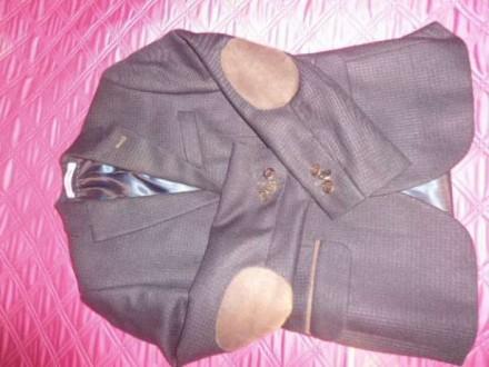 Піджак для хлопчика , пиджак для мальчика. Коростышев. фото 1