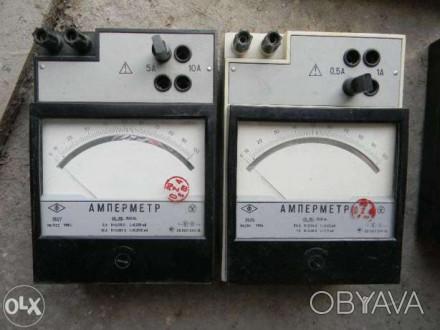 Продам амперметры Э525, Э527 45...100...1500 Hz. Продаем в связи с закрытием фир. Теплодар, Одесская область. фото 1
