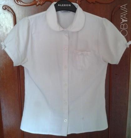 Белая школьная рубашка George для девочки 11-12 лет.. Киев. фото 1