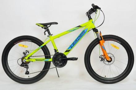 Продам велосипед LEADER JUNIOR 24. Харьков. фото 1