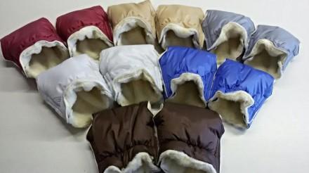 Муфта-рукавички для коляски. Днепр. фото 1