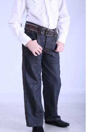 Красивенные Школьные Джинсы, брюки на мальчика 5,6,7,8,9,10,11,12,13 лет. Мариуполь. фото 1