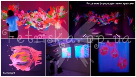 Флуоресцентная краска предназначена для декоративного окрашивания деревянных, ги. Николаев, Николаевская область. фото 8
