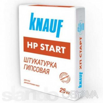 Универсальная штукатурка HP START (НР Старт) на основе гипса и извести для внутр. Киев, Киевская область. фото 1