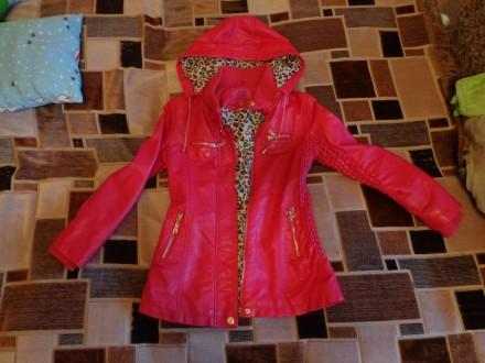 Куртка на девочку 8-10 лет ( весна- осень). Лозовая. фото 1