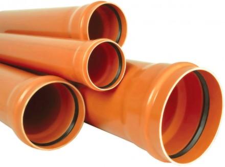 ПВХ трубы для наружной и внутренней канализации. Харків. фото 1