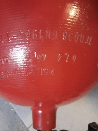 Баллон метан.  Балон - 56,5 литров, 14 кубов газа, вес 67,4 кг, толщина стенки. Киев, Киевская область. фото 4