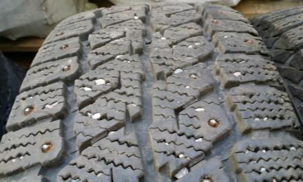Зимние шипованные шины Gislaved North Frost Van, 205/65 R16C.. Днепр. фото 1