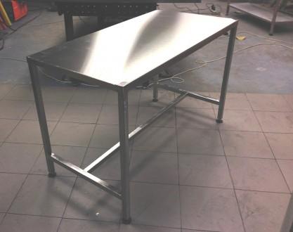 Изготавливаем столы из нержавеющей стали разнообразных форм, конфигураций с разл. Киев, Киевская область. фото 2