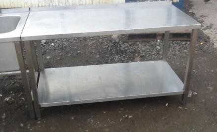 Изготавливаем столы из нержавеющей стали разнообразных форм, конфигураций с разл. Киев, Киевская область. фото 3