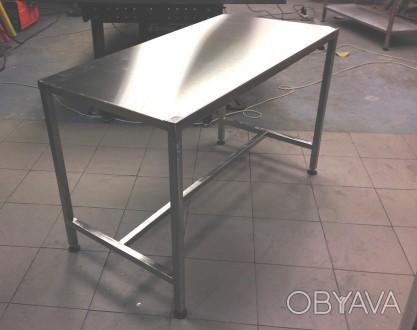 Изготавливаем столы из нержавеющей стали разнообразных форм, конфигураций с разл. Киев, Киевская область. фото 1