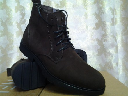 Стильные демисезонные ботинки коричневые Lioneli(Faro) Распродажа. Одесса. фото 1