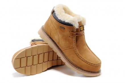 Caterpillar Winter Boots Jhbubyfk Yellow. Киев. фото 1