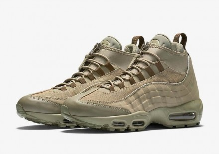 Nike Air Max 95 SneakerBoot Beige. Киев. фото 1