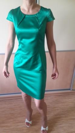 Яркое изумрудное платье.. Харьков. фото 1