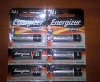 Батарейки Energizer Alkaline Power AA1 стандартный пальчик. Одесса. фото 1