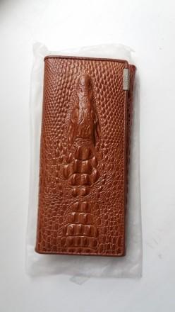 Кошелек клатч кожа женский  alligator. Днепр. фото 1