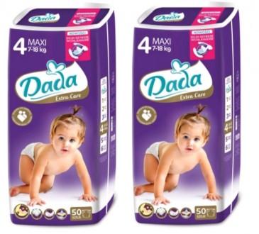 Подгузники Дада Софт, Премиум (Dada premium, extra care, soft) 1,2,3,4,4+,5,6. Сумы. фото 1