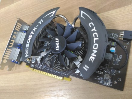 Видеокарта MSI GeForce GTX 650 Ti Power Edition OC CYCLONE II. Киев. фото 1
