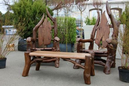 Мебель для сада, ресторанов и кафе. Дрифтвуд, плетенная мебель и ротанг. Одесса. фото 1