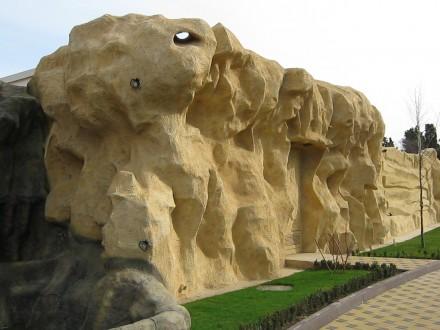 Наша компания профессионально осуществляет изготовление искусственных скал в инт. Одесса, Одесская область. фото 3