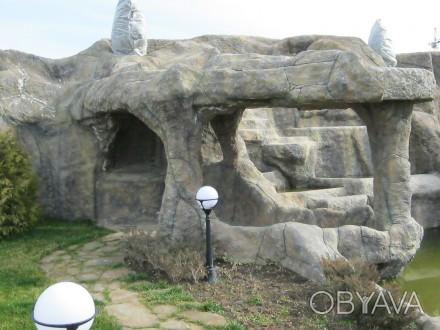 Наша компания профессионально осуществляет изготовление искусственных скал в инт. Одесса, Одесская область. фото 1