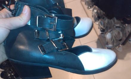 Кожаные туфли 38рр reserved. Мариуполь. фото 1