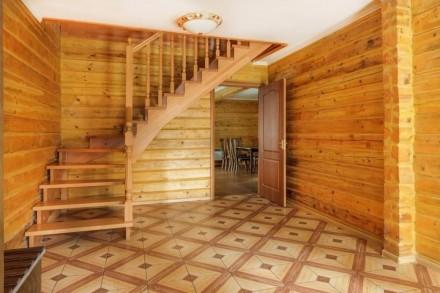 Посуточная аренда современного деревянного 2-х этажного экокоттеджа с сауной, ба. Київ, Київська область. фото 3