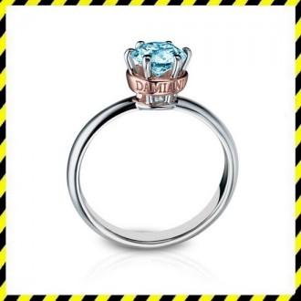 Эксклюзивное золотое кольцо Elegance с бриллиантом 0,62 ct.! Срочно.. Днепр. фото 1