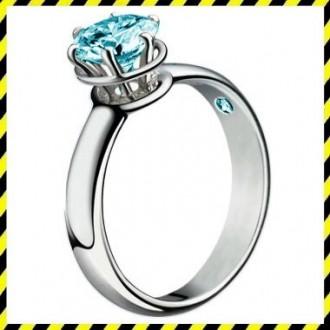 Золотое кольцо с бриллиантом 0,75ct. ELIT! 750 проба. эксклюзив!. Днепр. фото 1